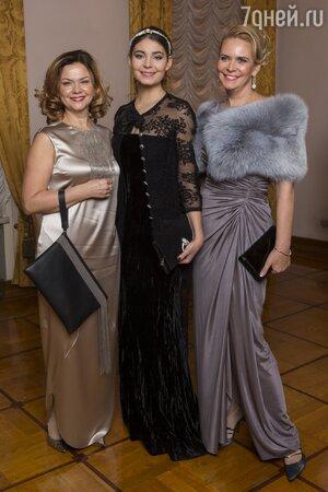 Алена Яковлева, Мария Козакова и Татьяна Яковенко