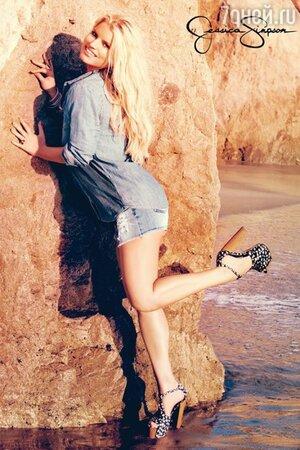Джессика Симпсон в рекламной кампании своего бренда Jessica Simpson