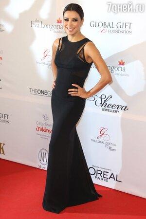 Ева Лонгория в платье от Victoria Beckham