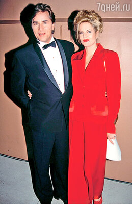 Бывшие супруги Дон Джонсон и Мелани Гриффит