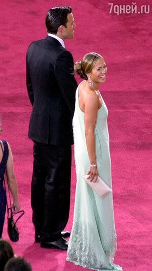 Дженнифер Лопес и Бен Аффлек на премии Оскар