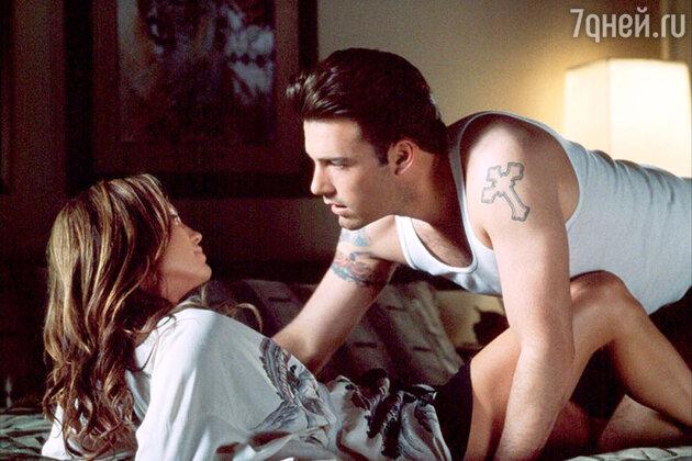 Кадр из фильма «Джильи», 2001 г. С него началась любовь Бена и Дженнифер