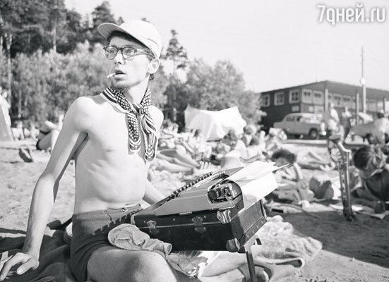 Олег Даль фильме «Мой младший брат». 1962 год