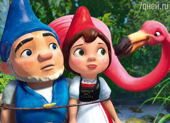 Кадр мультфильма «Гномео и Джульетта 3D»