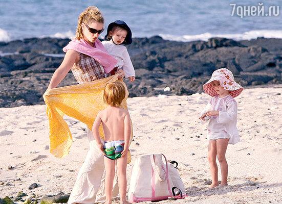 Отдых на Гавайях. С маленьким Генри, Финном и Хэзел