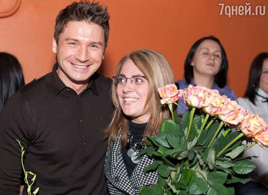 Сергей Лазарев (слева)