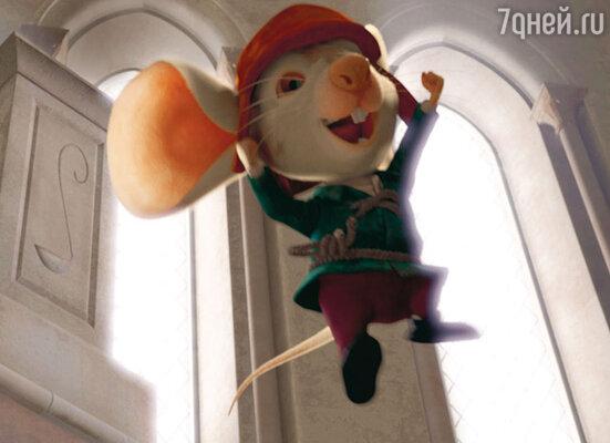 Мышонок-рыцарь заговорит голосом Егора Бероева