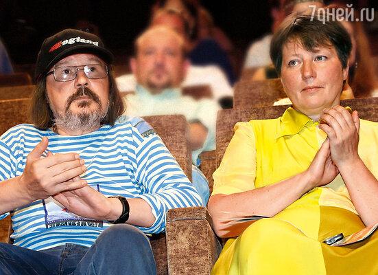 Алексей со второй женой — Надеждой Васильевой
