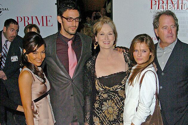 Мэрил Стрип с дочкой и мужем на премьере фильма «Мой лучший любовник»