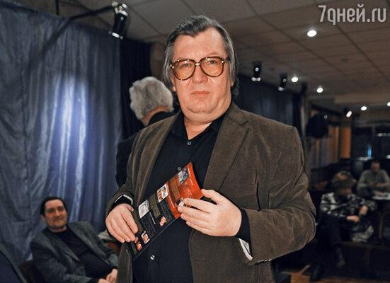 Председатель жюри премии «Снято!» Владилен Арсеньев.