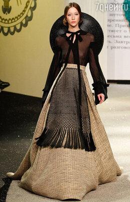 Коллекция Ульяны Сергеенко на Неделе моды в Париже