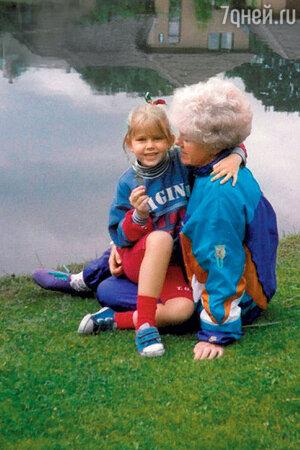 Екатерина Кузнецова с бабушкой