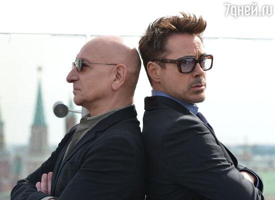 Роберт и Бен подружились на съемках третьего «Железного человека», что было заметно — они улыбались, дурачились, смеялись, шутили и вообще чувствовали себя довольно вольготно в компании друг друга