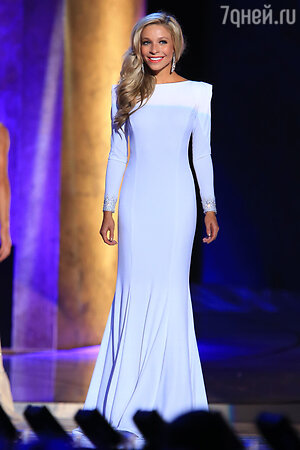 «Мисс Америка» Кира Казанцева