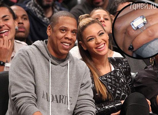 Благодаря рэперу Jay-Z у певицы Бейонсе появилось бриллиантовое кольцо стоимостью в 5 миллионов долларов