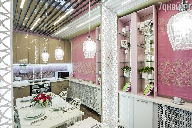 Идеи для дизайна: кухня в стиле «Секса в большом городе»