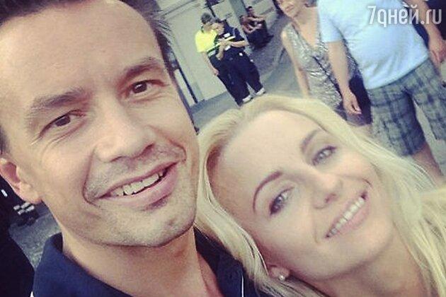 Алексей Серов с Ириной