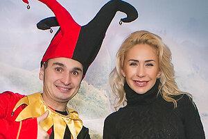 Анастасия Гребенкина с сыном попала в зазеркалье