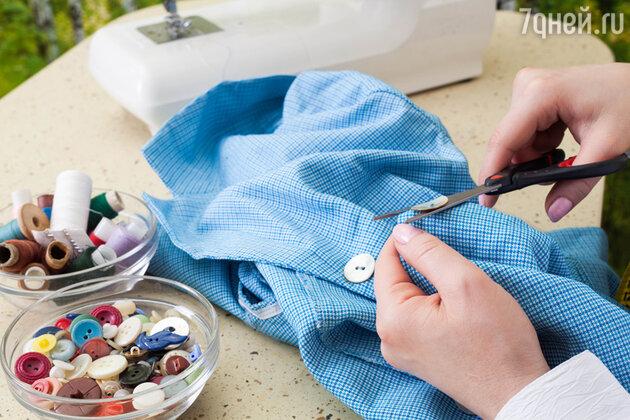 Чтобы проложить путь к сердцу любимого, хорошо бы пришить пуговицы на его сорочке