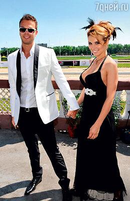 Анна Седокова с бывшим мужем Максимом Чернявским