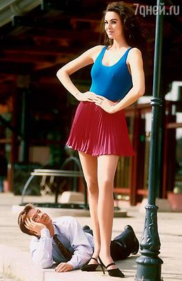 «Модель с самыми длинными ногами в мире», — так нередко называли Лорен Скотт вмодельном бизнесе