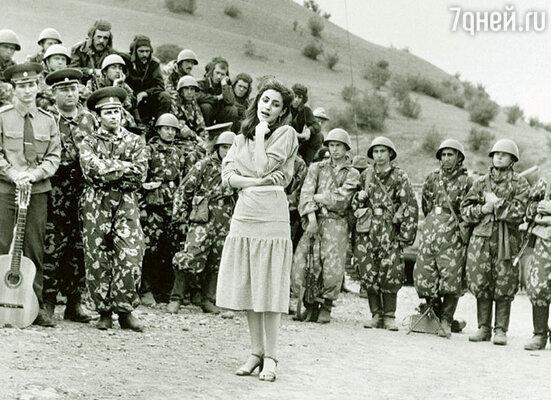 Я поехала в Афганистан с концертами. Хотелось поддержать наших ребят