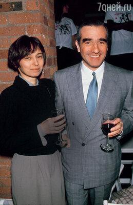 После развода Мартин и его третья жена Барбара остались лучшими друзьями