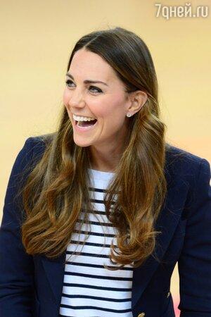 Кейт Миддлтон в Олимпийском парке королевы Елизаветы