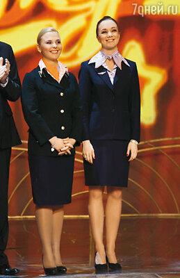 С Дарьей Мороз на шоу «Две звезды»