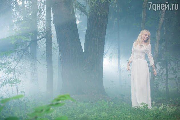 Валерия на съемках клипа «Формула счастья»