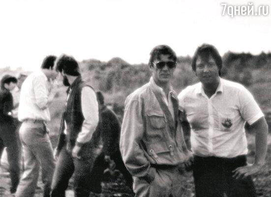 С Александром Абдуловым. 1986 г.