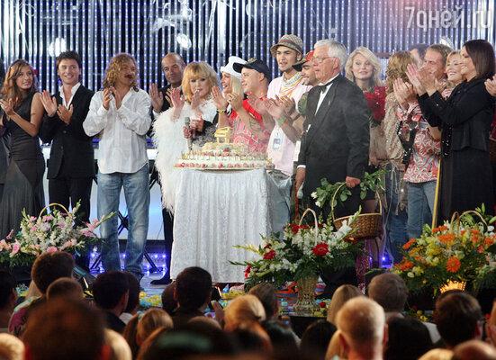 Концерт, посвященный 70-летию Раймонда Паулса на «Новой волне», 2006 г.