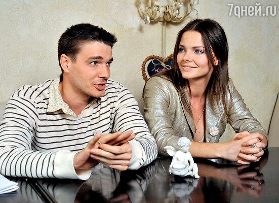 С мужем Максимом Матвеевым