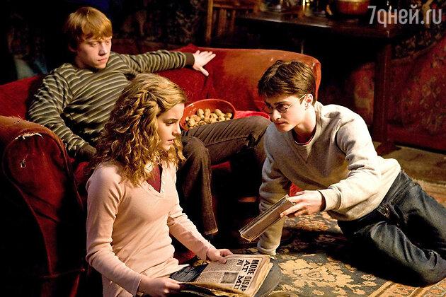 Кадр из фильма «Гарри Пооттер и Принц-полукровка»