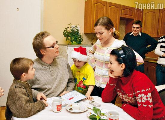 С воспитанниками детского дома «Радуга»