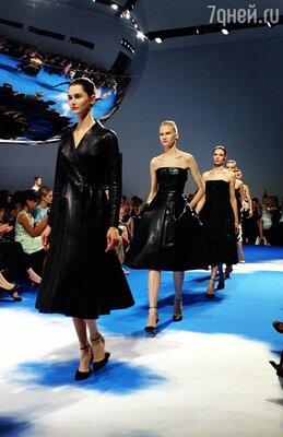 Коллекция Christian Dior сезона осень-зима 2013/14