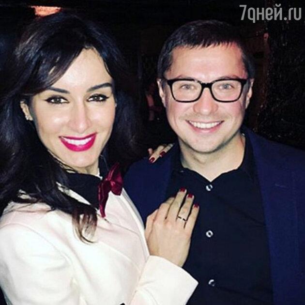 Тина Канделаки с мужем Василием Бровко