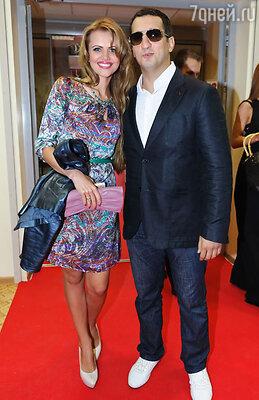 Арарат Кещян с супругой