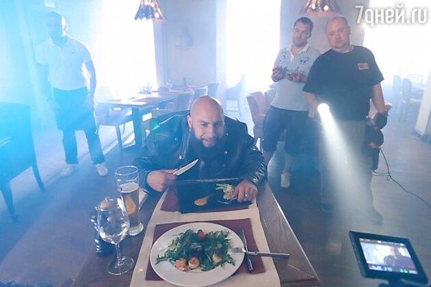Съемки клипа Марты Кот «Эстеты»
