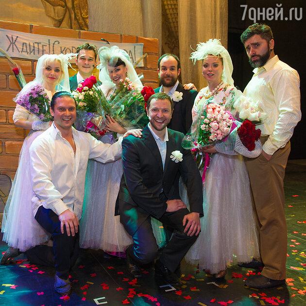 Нонна Гришаева, Наталья Громушкина, Гурам Баблишвили