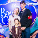 Мария Бутырская с супругом Вадимом и дочерью Александрой.
