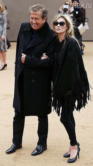 Марио Тестино и Кейт  Мосс
