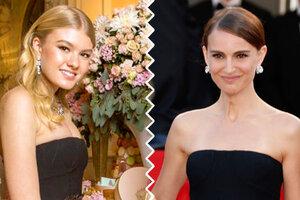 Битва нарядов: Ульяна Добровская и Натали Портман в Christian Dior