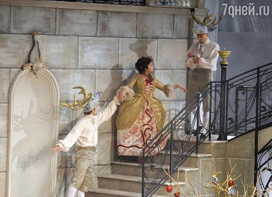 Спектакль «Безумный день, или Женитьба Фигаро» в  «Табакерке» (в помещении МХТ им. Чехова)