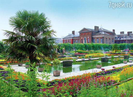В садах Кенсингтонского дворца, ставшего домом для Кейт и Уильяма, предстоит провести детство принцу Джорджу