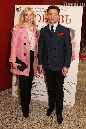 Александр Олешко и Анна Чурина