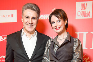 ЭКСКЛЮЗИВ: Ольга Погодина и Алексей Пиманов превратили премьеру в дефиле