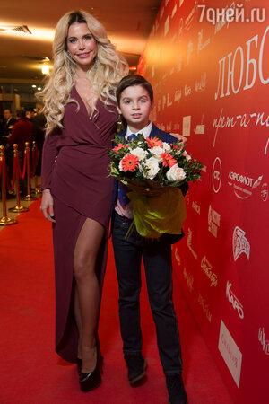 Златослава с сыном