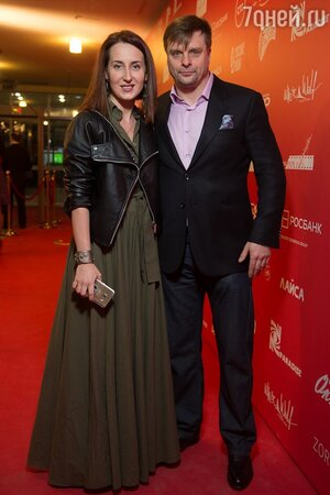 Александр Носик с женой Ольгой