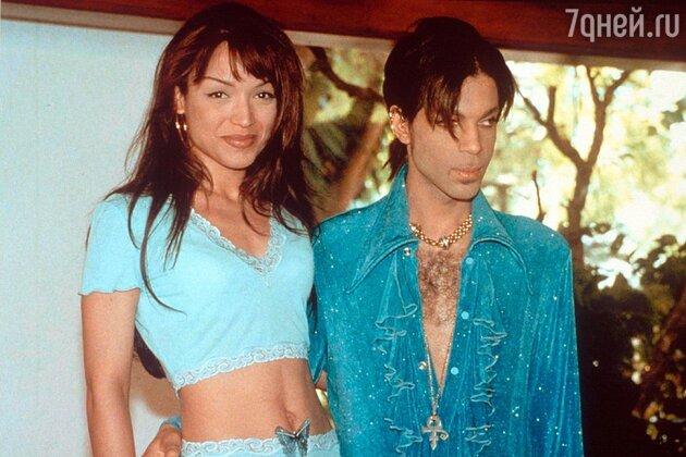 Принс и  Майте Гарсия. 1998 г.